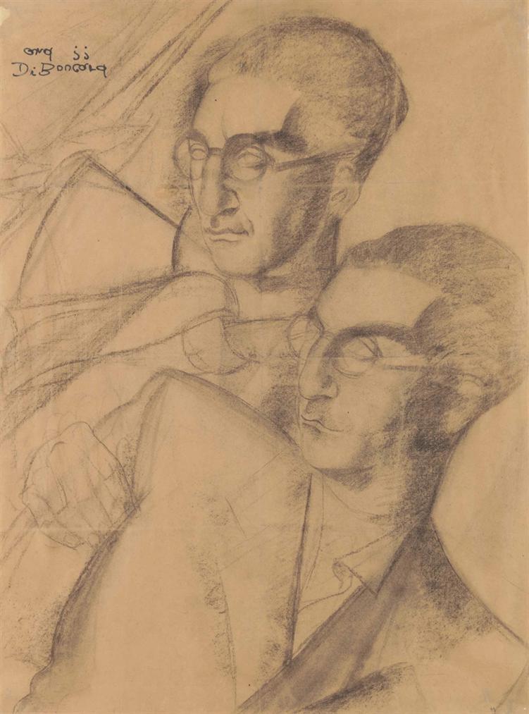 Tamara de Lempicka-Portrait Dhomme Dedouble-1931