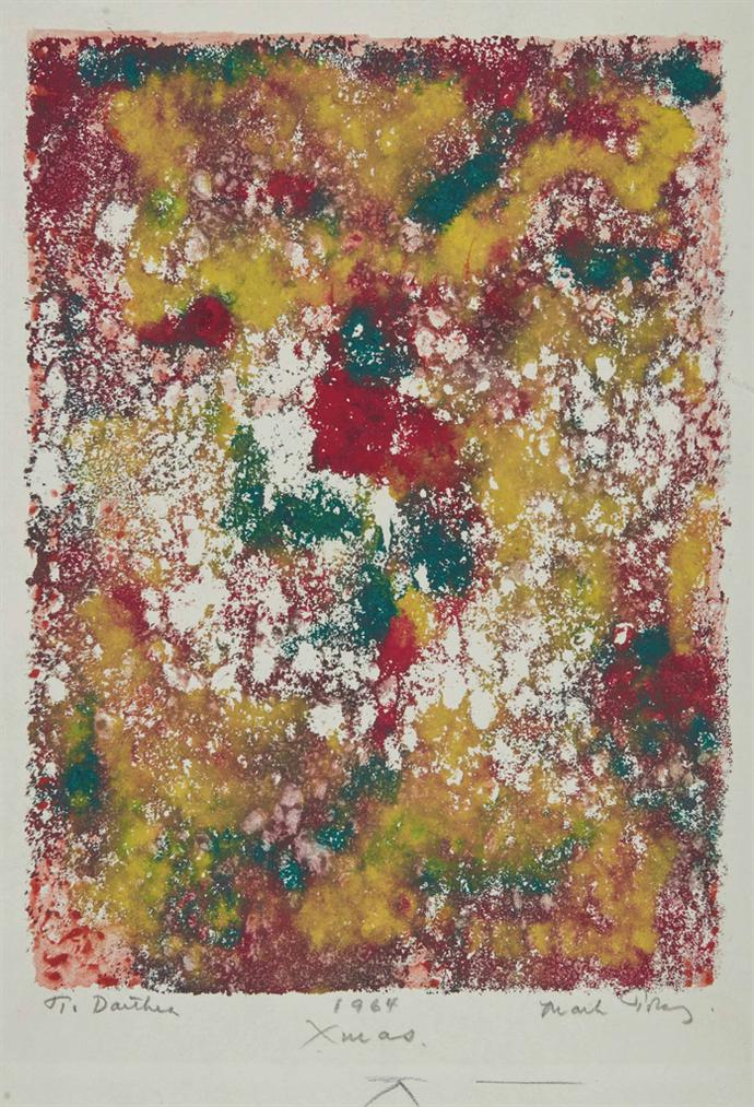 Mark Tobey-Sans Titre-1964