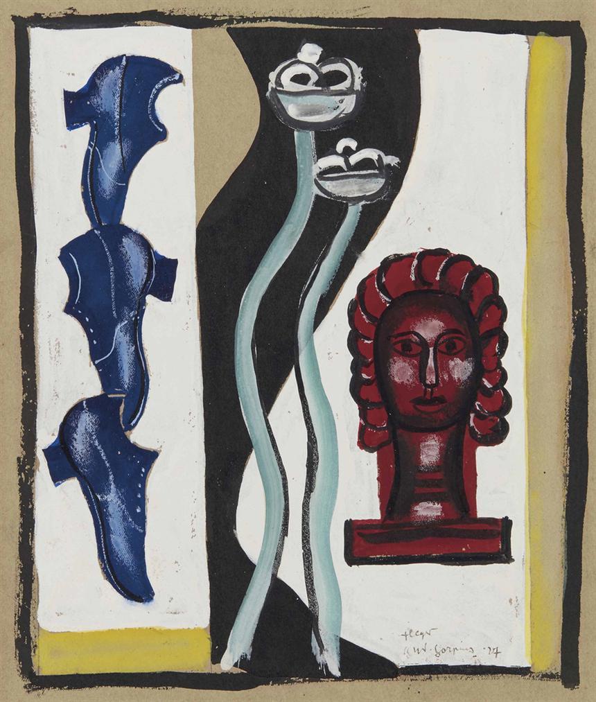 Fernand Leger-Fleur-1927