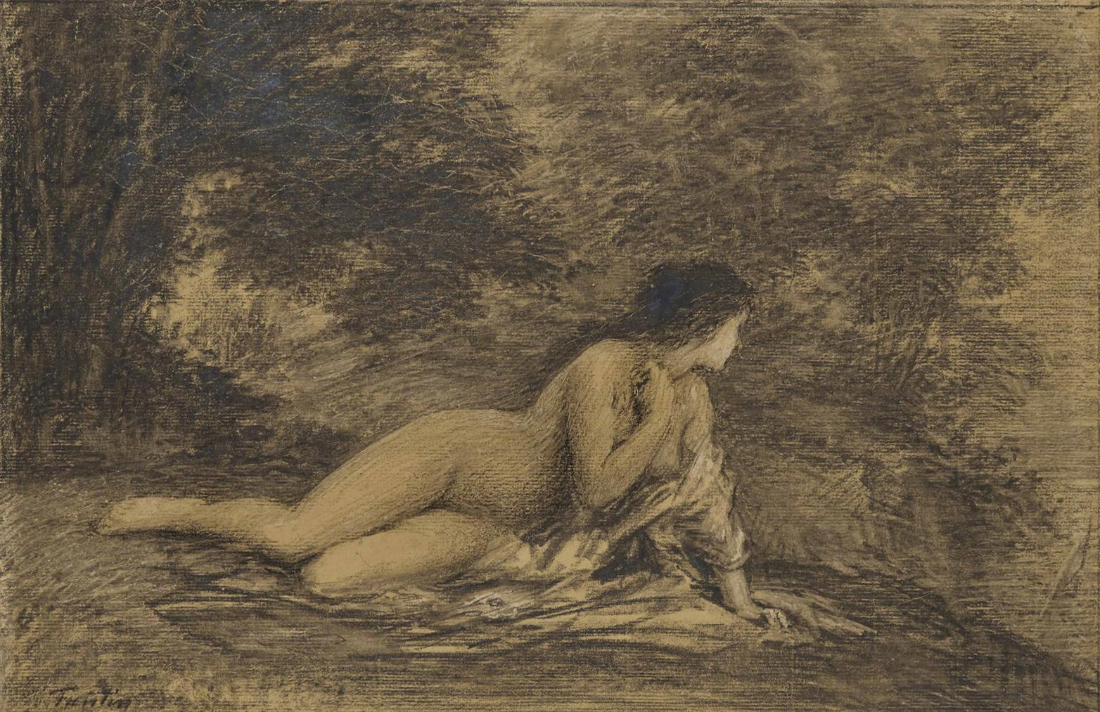 Henri Fantin-Latour-Ariane Abandonnee-1898