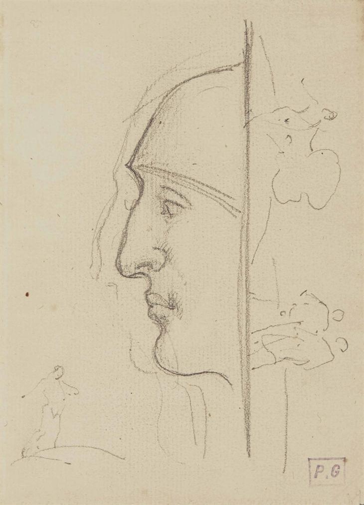 Paul Gauguin-Profil-