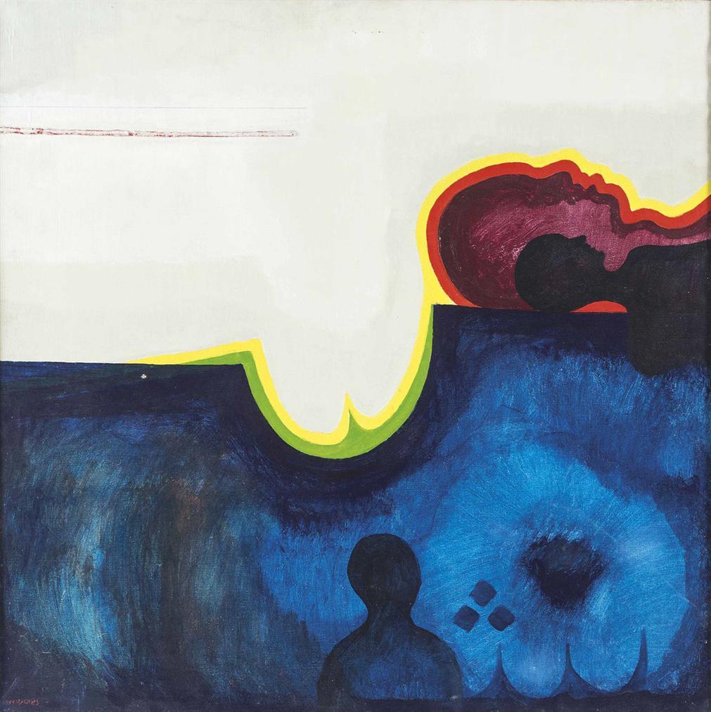 Rafa Al Nai - A Sun Mural-1972