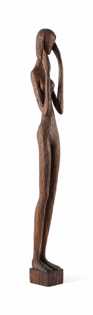 Michel Basbous - Untitled (Standing Woman)-1950