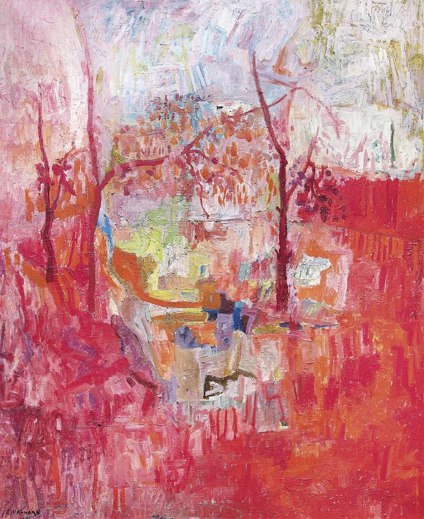 Elie Kanaan - Elie Kanaan (Lebanese, 1926-2009)-1971