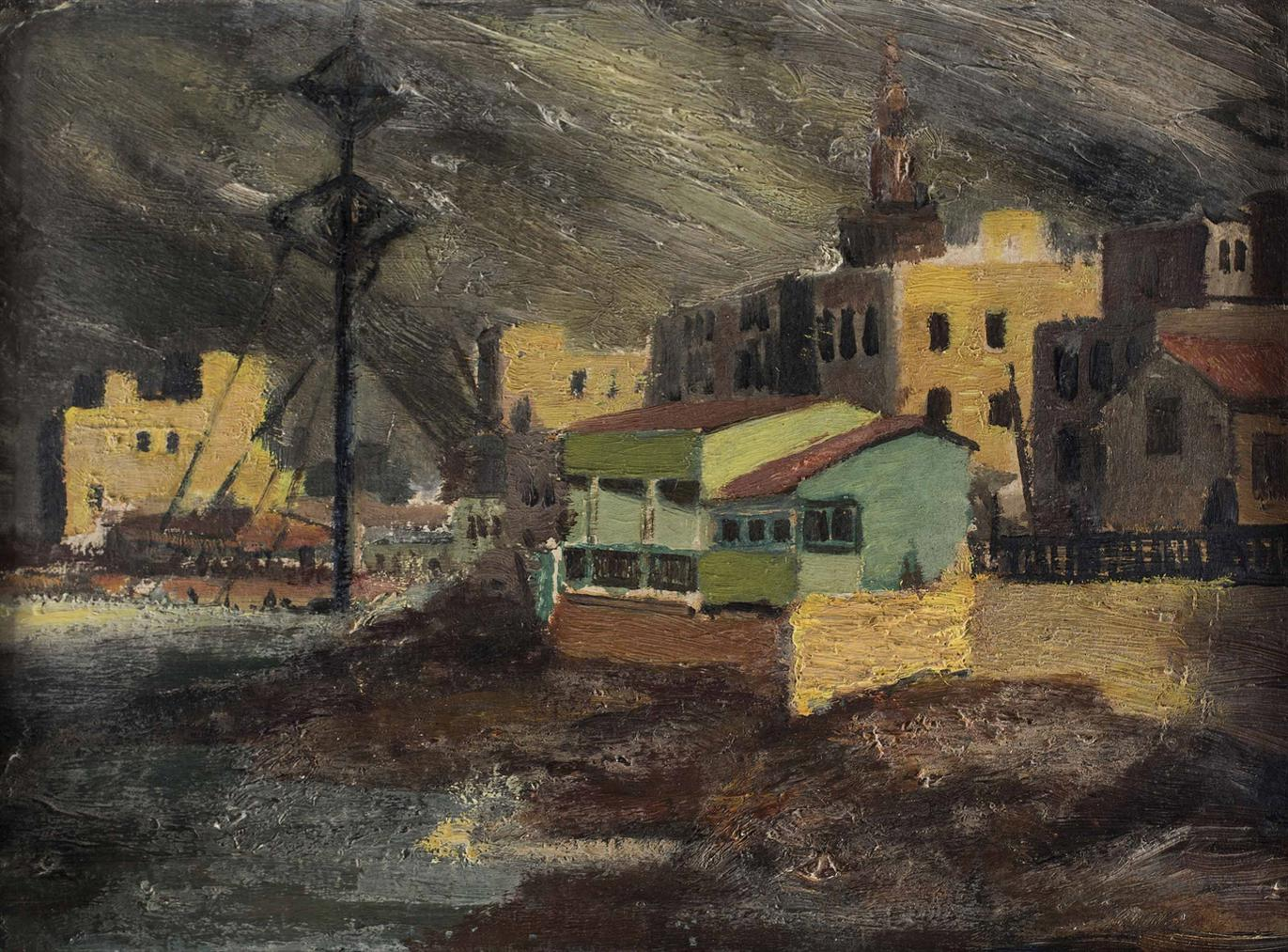 Mahmoud Said-Le Mex (Alexandrie)-1918