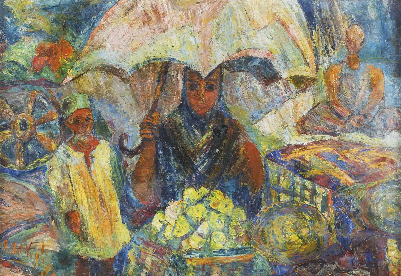 Effat Naghi - Bayaet Al Fakiha (The Fruit Seller)-1952