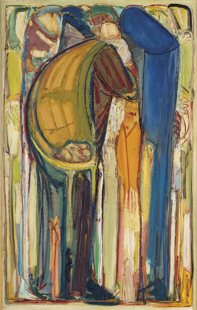 Paul Guiragossian-La Depart Du Portefaix-1985