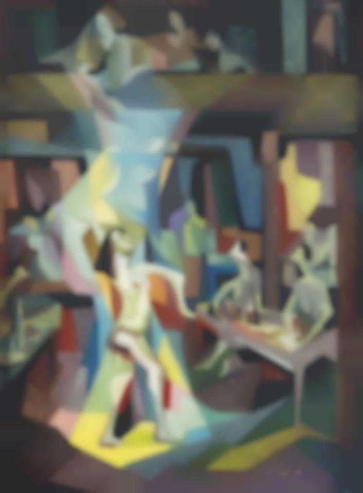 Hafidh Al Droubi - The Dancer-1965