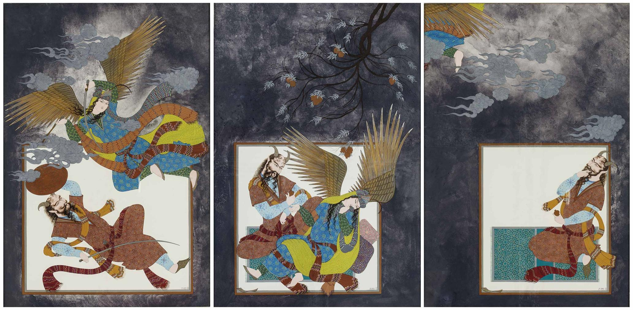 Farah Ossuli - Triptych: War, Love And Escape-1989