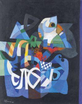 Dia Azzawi-Diary #3-1986