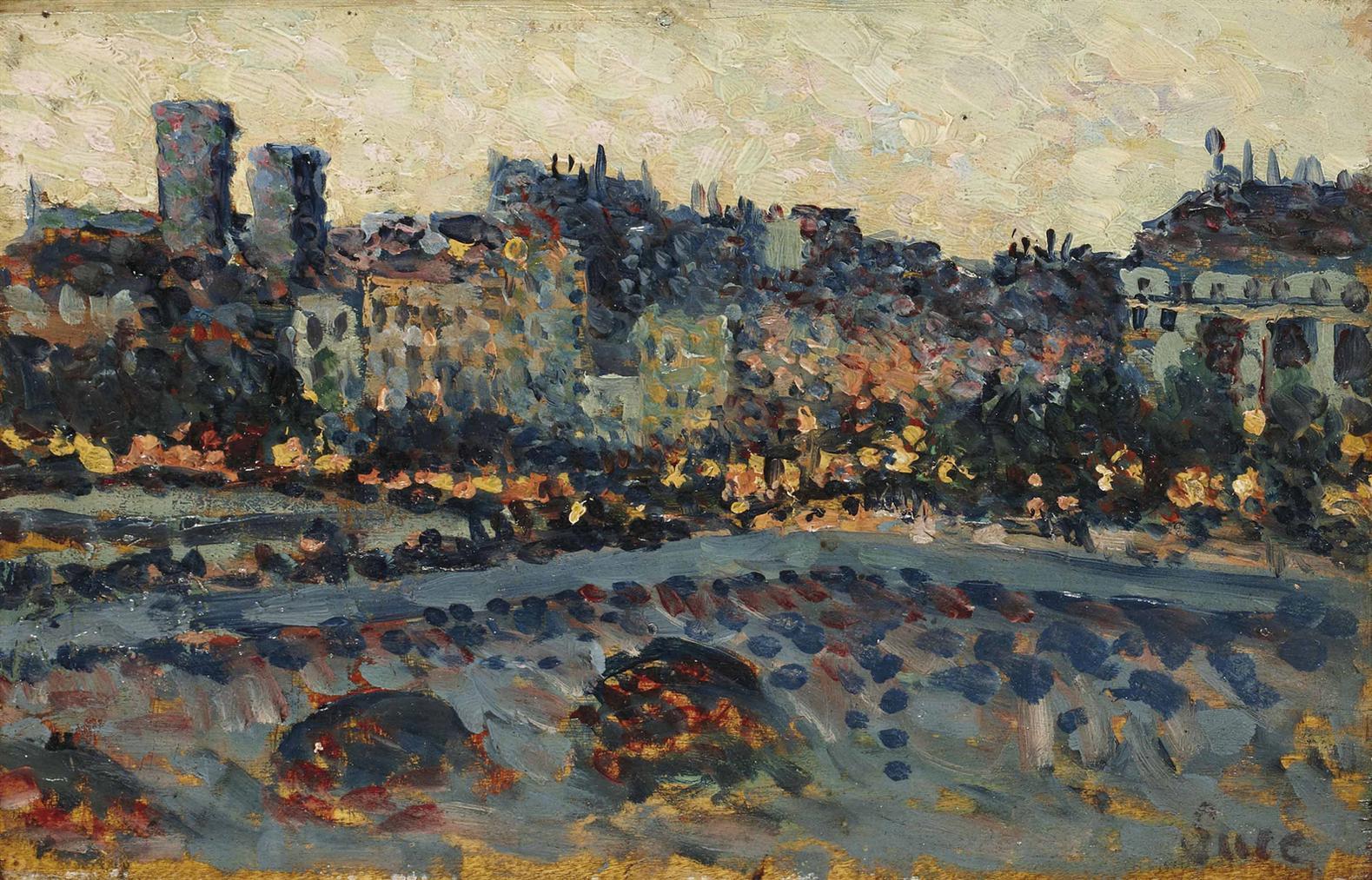 Maximilien Luce-Le Pont-Neuf Ou La Rive Droite De La Seine A La Hauteur Du Pont-Neuf-1900