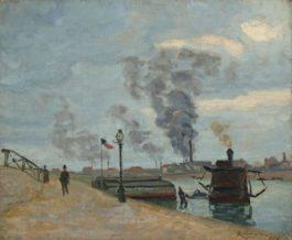 Jean-Baptiste Armand Guillaumin-Quais De La Scene A Paris, Ile-De-France-1874