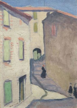 Albert Marquet-Rue Montante A Collioure-1912
