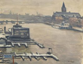 Albert Marquet-Amsterdam, Neige-1938