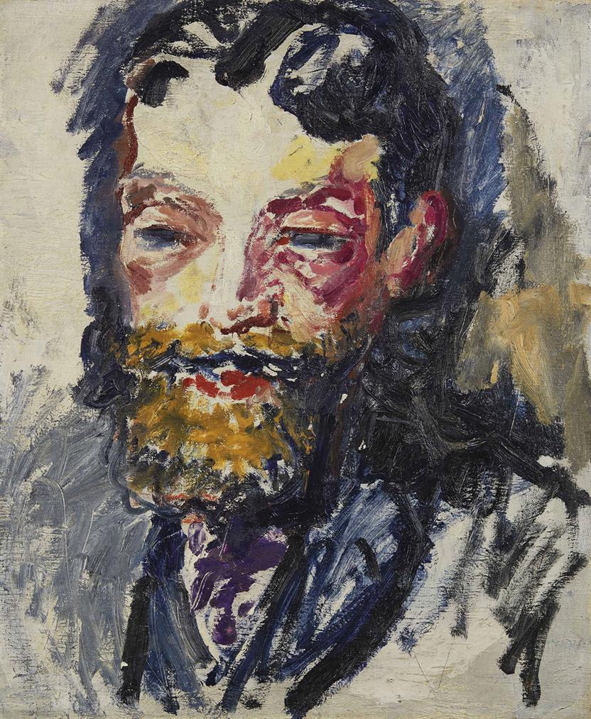 Kees van Dongen-Portrait De Charles Malpel-1907