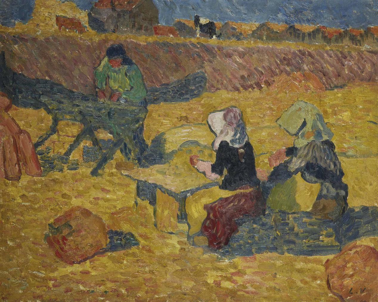 Louis Valtat-Les Ecailleres Dhuitres A Arcachon-1896