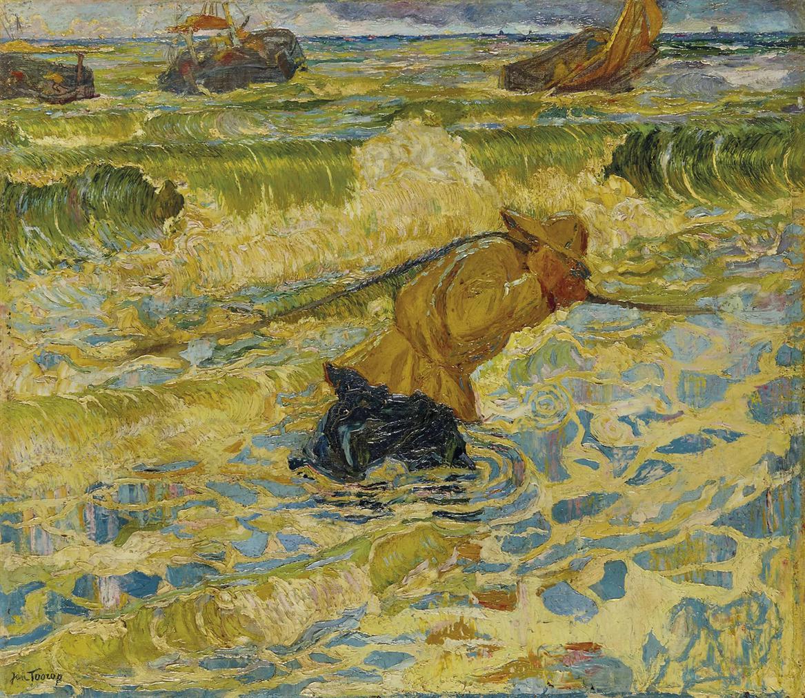 Johannes Theodorus Toorop - Vloed-1891
