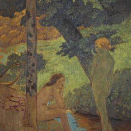 Paul Serusier-Deux Jeunes Filles Au Bain-1914