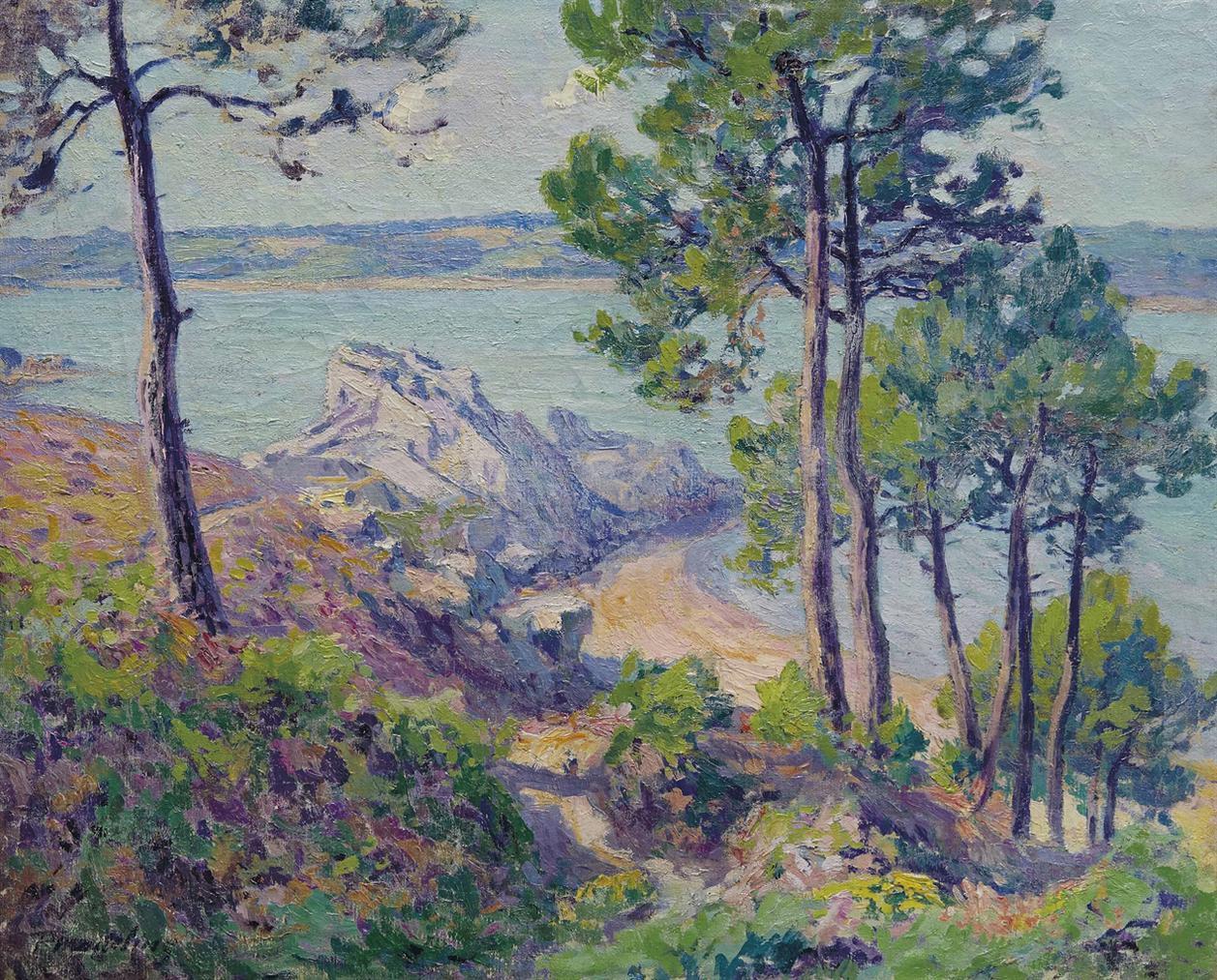 Paul Madeline - Bord De Mer-1906