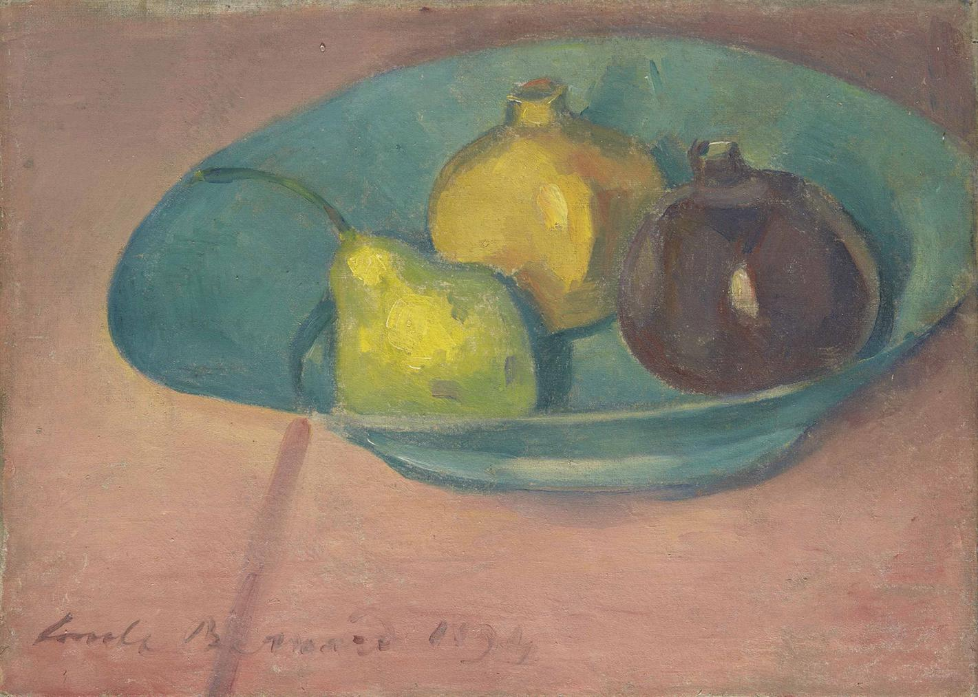 Emile Bernard-Nature Morte Aux Fruits-1894