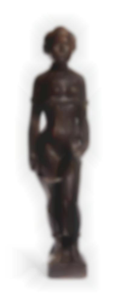 Aristide Maillol-Jeune Fille Debout-1901