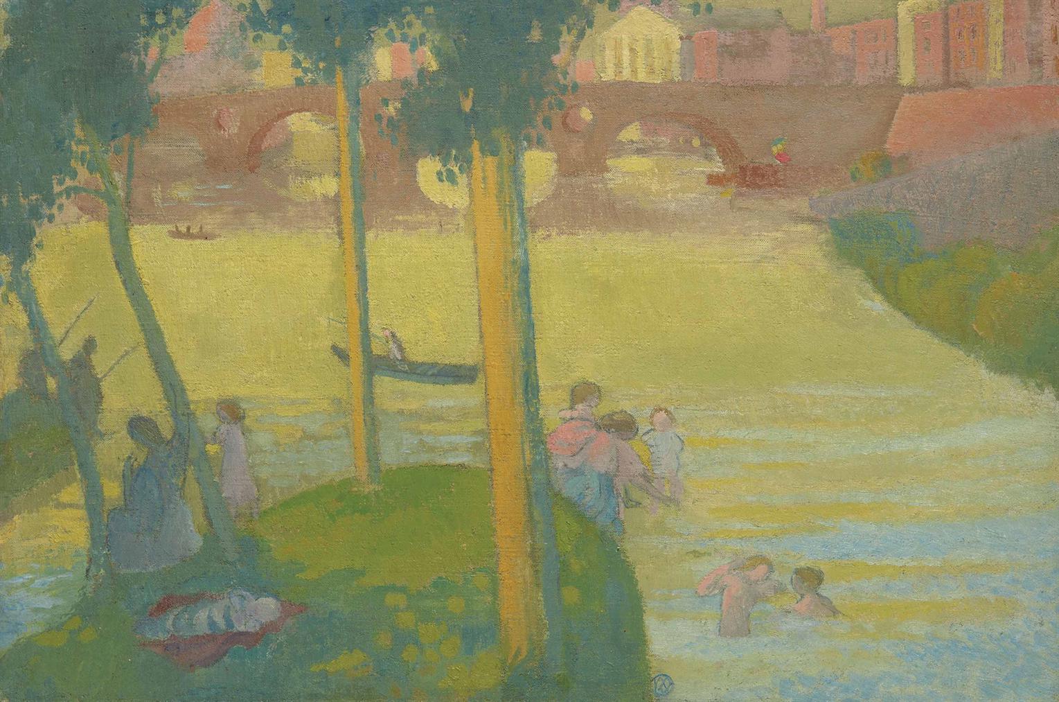 Maurice Denis-Vue De Toulouse-1896