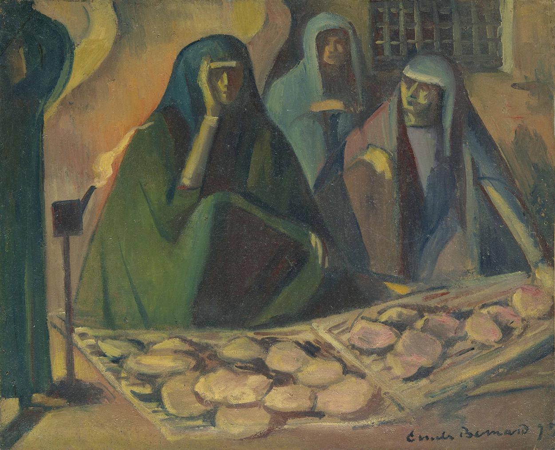Emile Bernard-Les Egyptiennes-1895