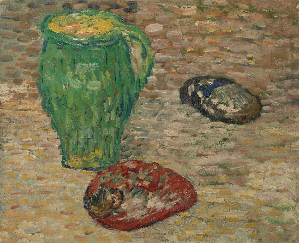 Louis Valtat-Nature Morte Au Pichet Vert-1895