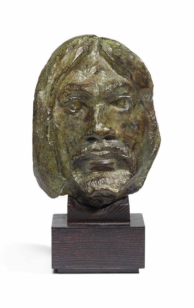 D'Apres Paul Gauguin - Masque-1891