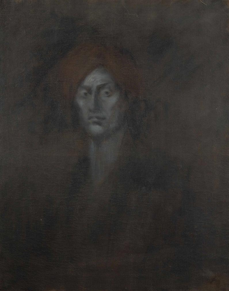 Jean Louis Forain-Etude Pour Un Autoportrait Presume-1900