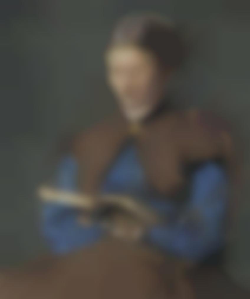 Henri Fantin-Latour-Portrait De Marie Fantin-Latour-1865