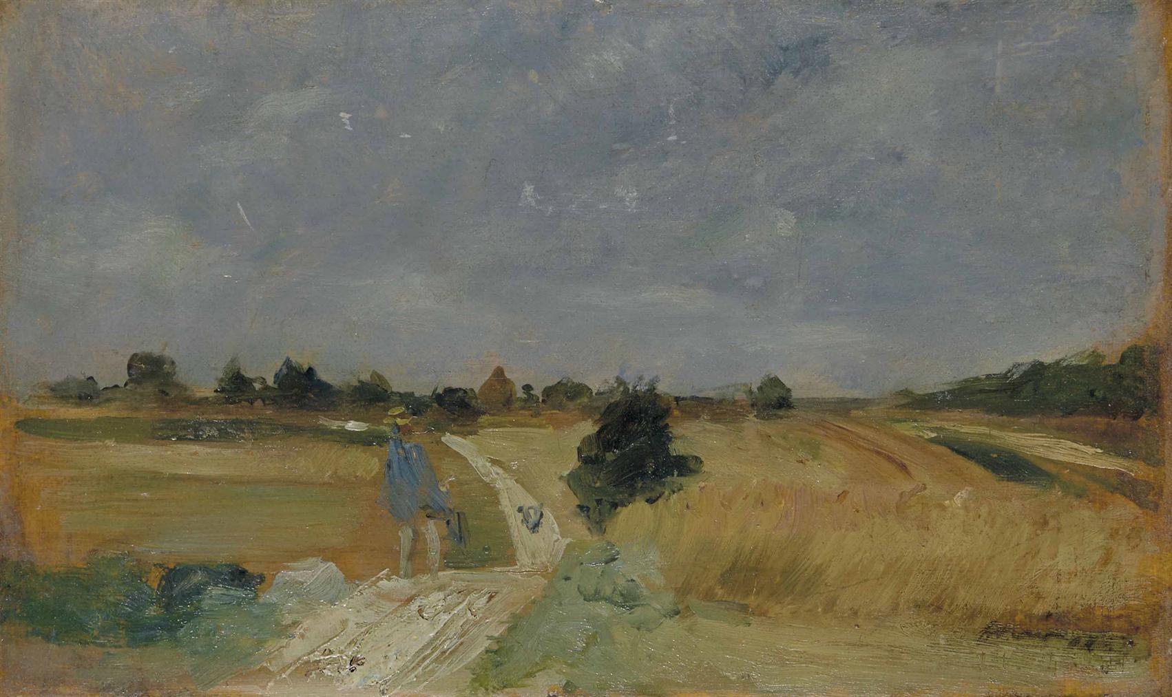 Jean-Louis Forain - Chemin De Campagne-1900