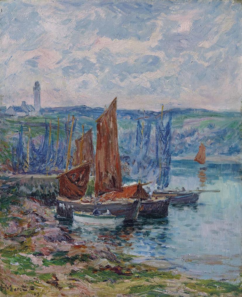 Henry Moret-Bateaux De Peche-