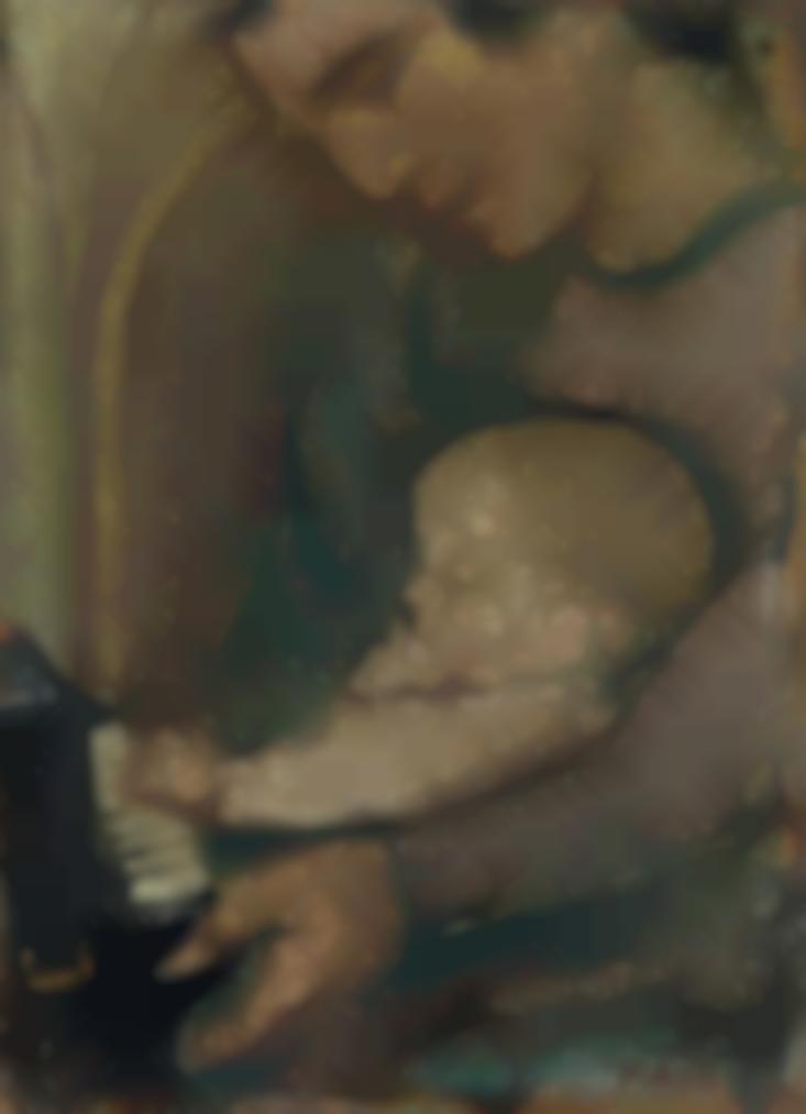 Maurice Denis-Premiere Lecon De Piano-1940