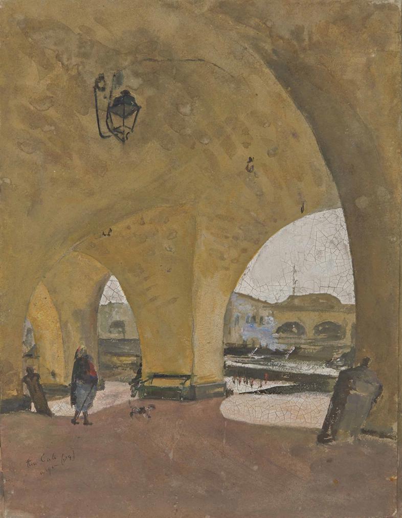 Pieter Ten Cate - Arche De La Citadelle, Alger-1904