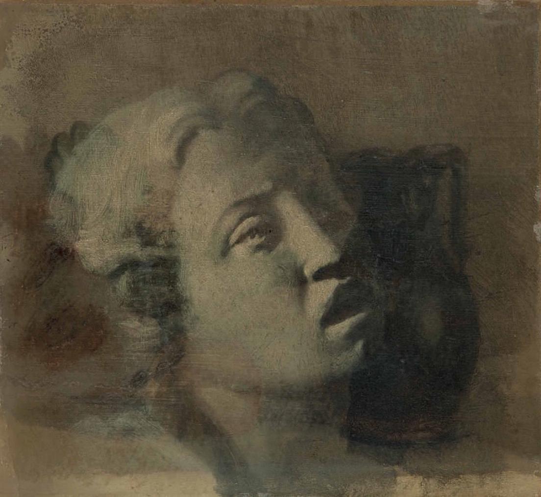 Edgar Degas-Etude Dapres Luca Della Robbia, Cantoria-1856