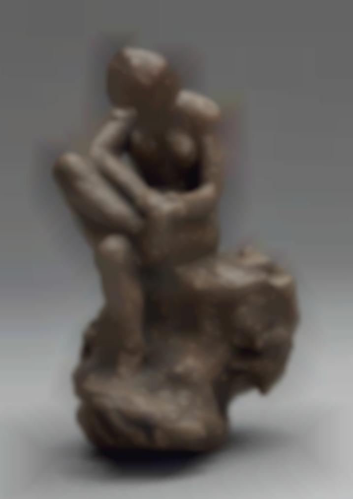 Pierre Bonnard-Baigneuse Au Rocher Essuyant Son Pied Droit-1906