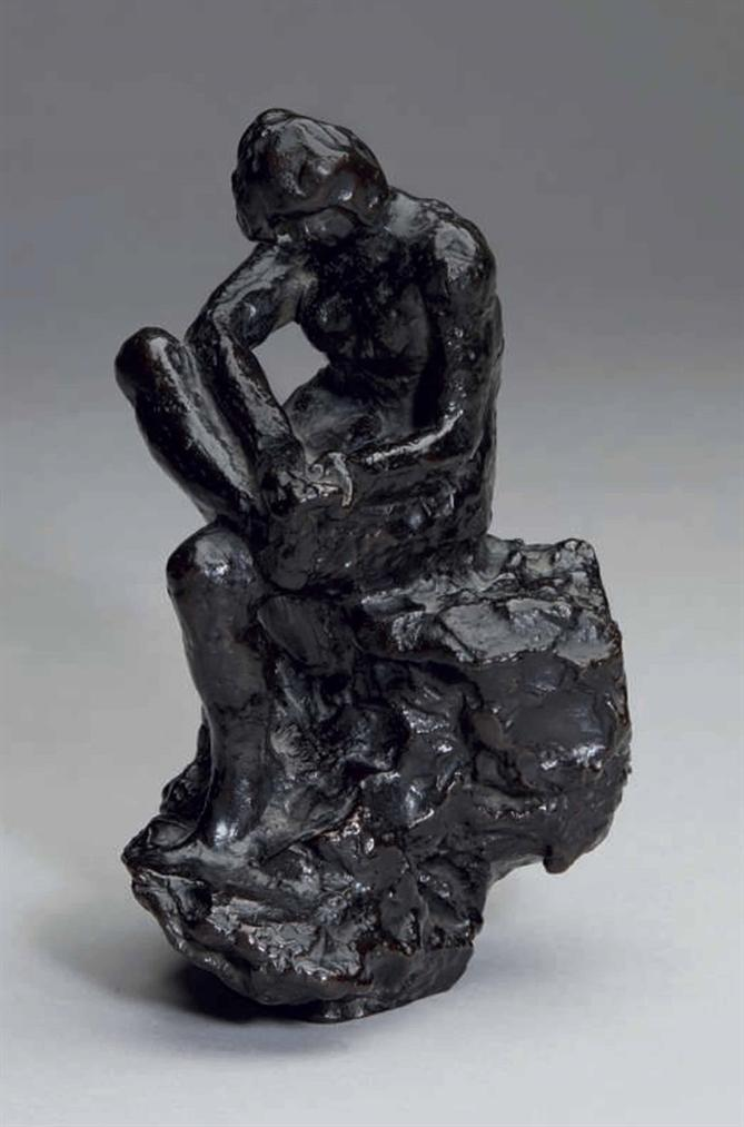 Pierre Bonnard-Baigneuse Au Rocher Essuyant Son Pied Droit-1968