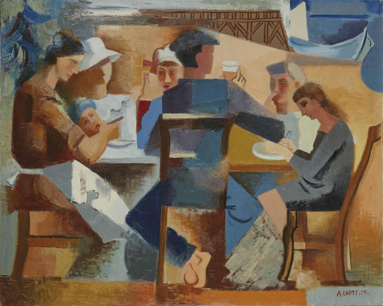Andre Lhote-Le Dejeuner Du Marin-1929