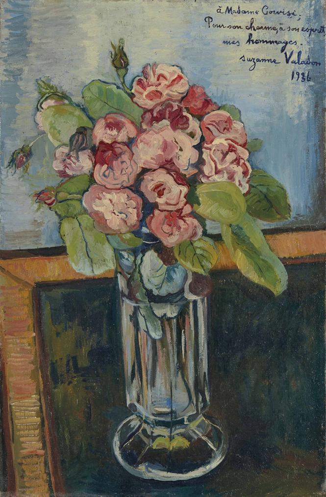 Suzanne Valadon-Bouquet De Roses-1936
