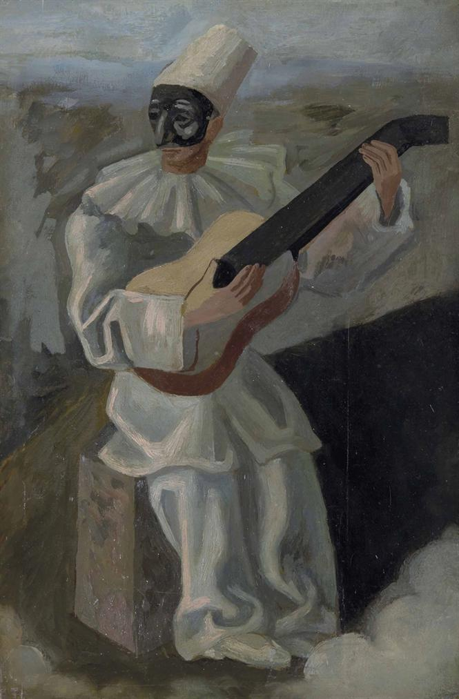 Gino Severini-Pulcinella-1934