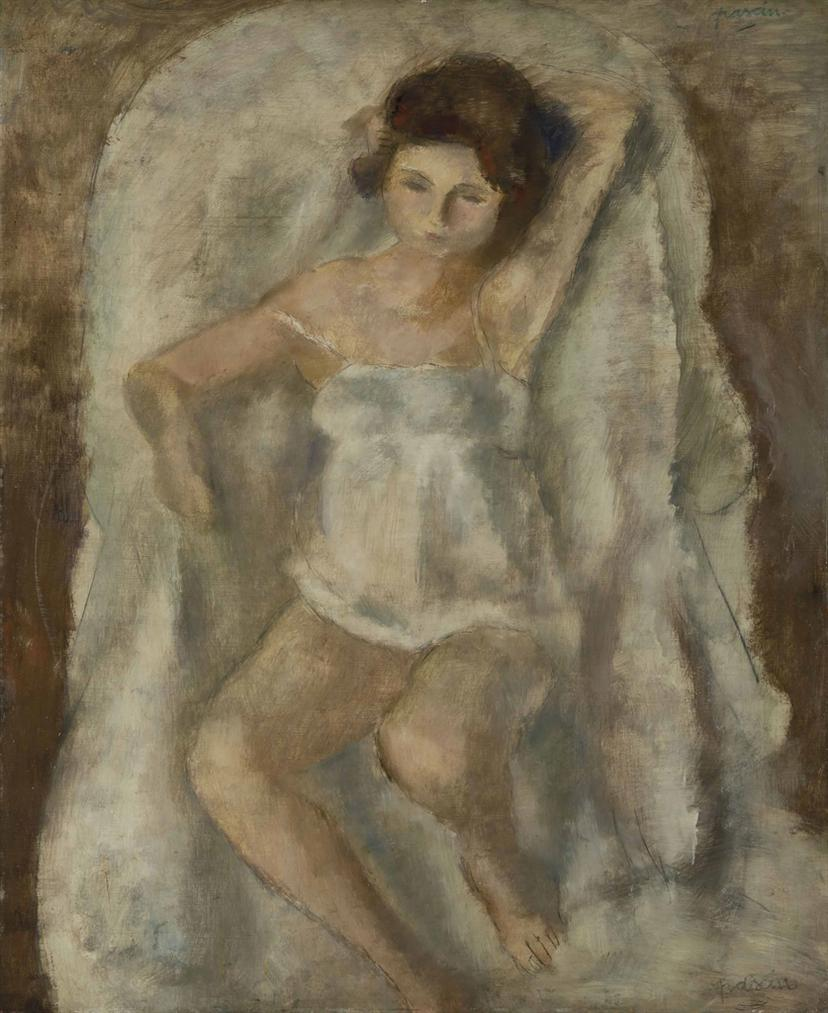 Jules Pascin-La Petite Lysis-1925