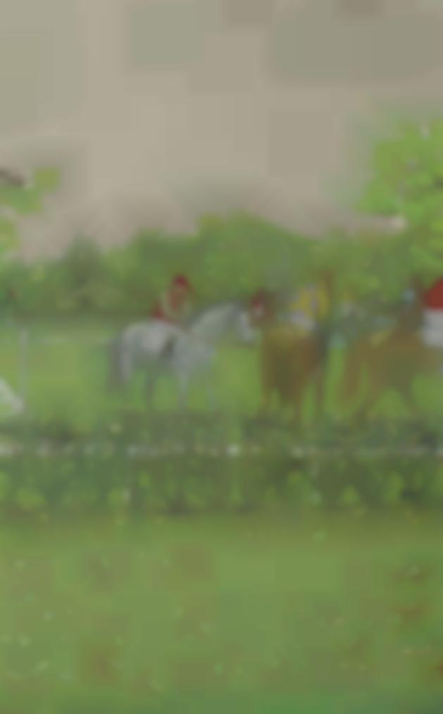 Maurice Brianchon-Chevaux Et Jockeys-