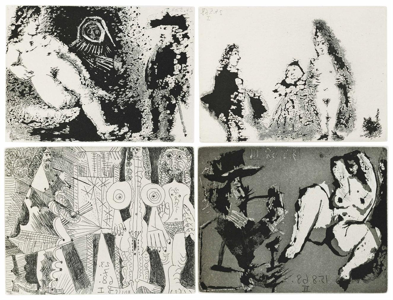 Pablo Picasso-Fernando De Rojas: La Celestine-1971