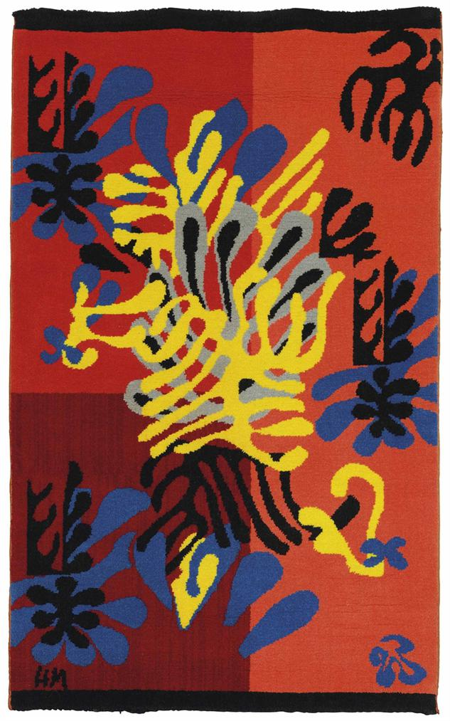 After Henri Matisse By Alexander Smith - Mimosa-1951