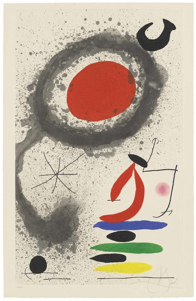 Joan Miro-Soleil Ebouillante-1969