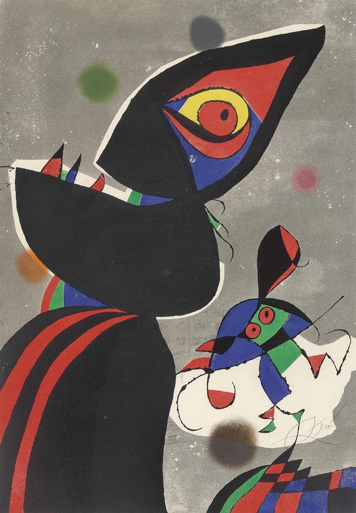 Joan Miro-Gaudi Xvii-1979