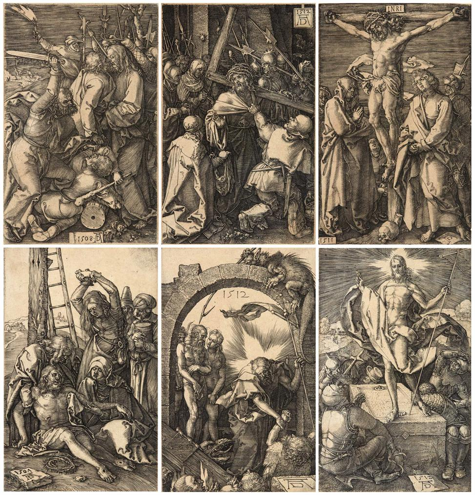 Albrecht Durer-The Engraved Passion-1513