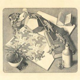 Maurits Cornelis Escher-Reptiles-1943