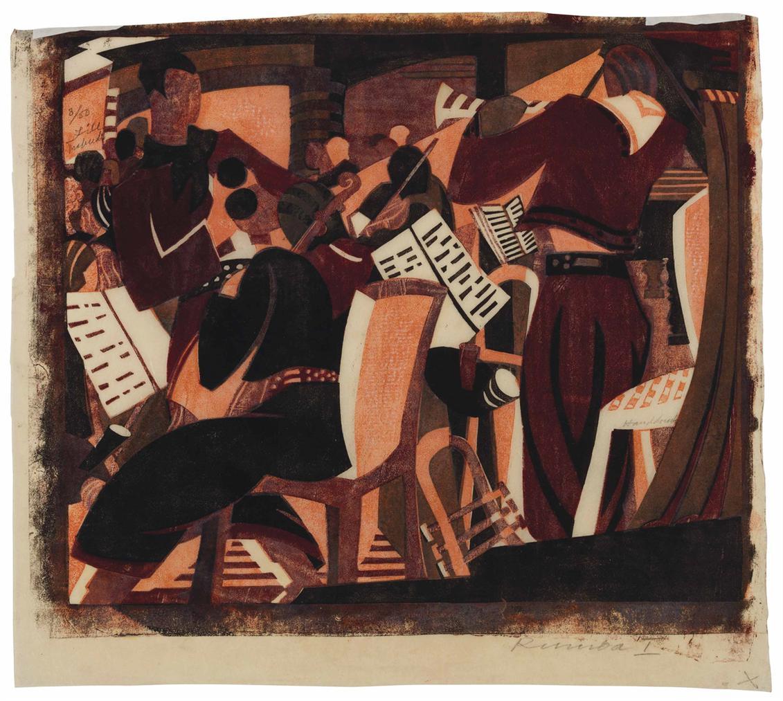 Lill Tschudi-Rumba Band I-1935